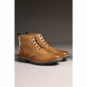 Bottines À Lacets Homme : chaussures montantes en cuir marron brogue boots next mode conseils mode ~ Melissatoandfro.com Idées de Décoration