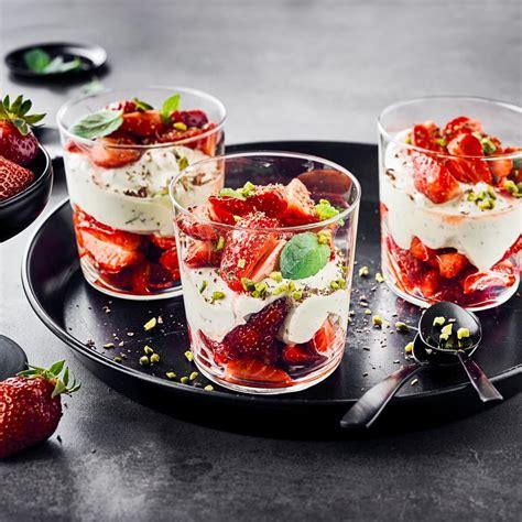 erdbeer mascarpone dessert rezept edeka