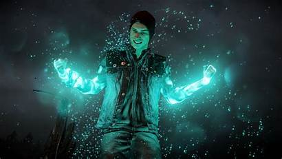 Infamous Son Second Wallpapers Games Space Midnight