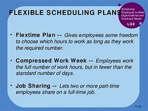 bus110 chap 11 human resource management With compressed work week proposal template