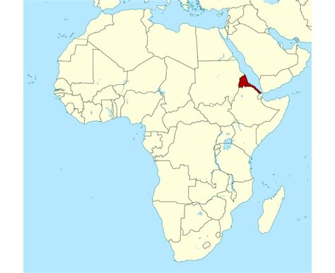 Maps of Eritrea | Detailed map of Eritrea in English ...