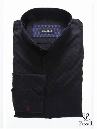 Egyptian Shirts Trim Collar Formal Cotton Uploaded