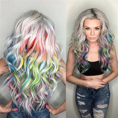 25 Best Ideas About Rainbow Highlights On Pinterest