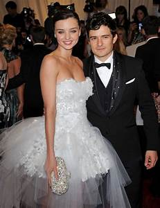 Miranda Kerr and Orlando Bloom Photos Photos - 2011 MET ...