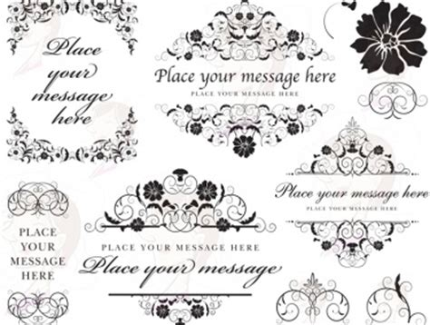digital wedding monogram frame vintage flourish monogram clip art clipart family monogram design