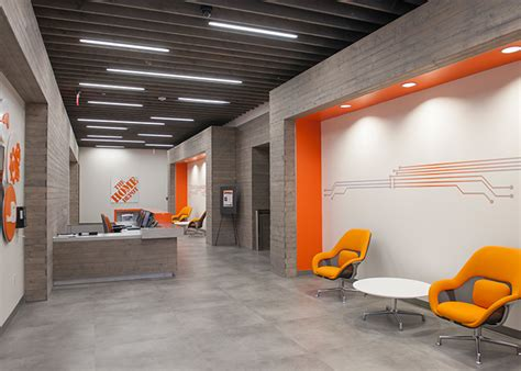 Home Depot Design Build by Recently Completed 210 000 Sf New Office Space For Home