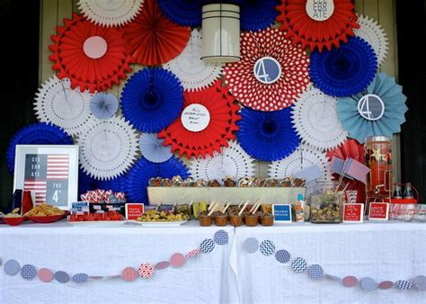 July Decorations Outdoor Party Ideas Founterior