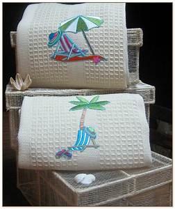 Beach Themed Bath Towels