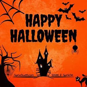 Gruselige Halloween Sprüche : schaurig sch n happy halloween gr e feiertagsspr che ~ Frokenaadalensverden.com Haus und Dekorationen