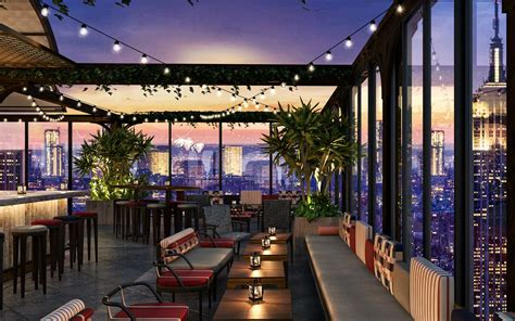 york citys largest rooftop bar    open