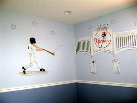 yankee bedroom decorating ideas sports murals 166 sports theme room decor 166 sports fan room
