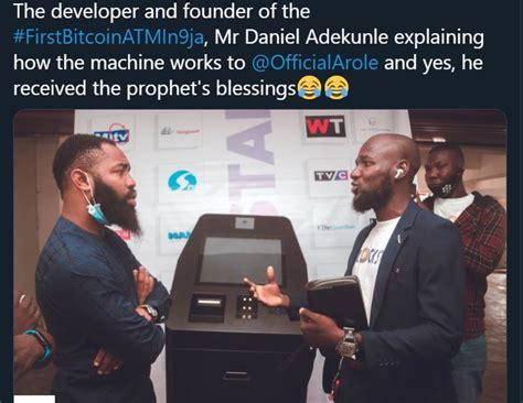 Nairaex is one of the leading exchange sites for this bitcoin to naira exchange. Twitter users celebrate the arrival of Nigeria's first Bitcoin ATM - DNB Stories