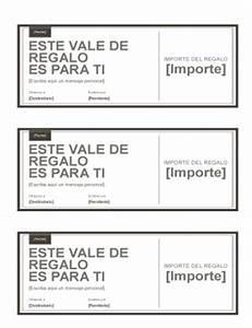 Formatos De Cheques En Word Vales De Regalo Vales De Regalo Regalos Regalos