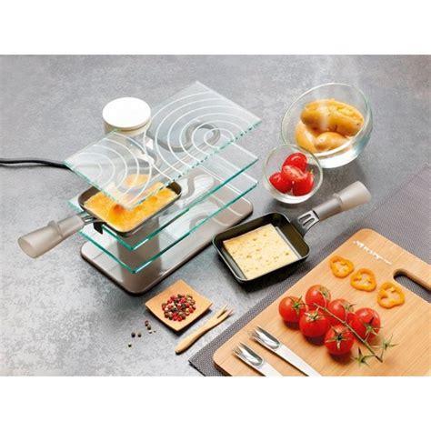 lagrange cuisine appareil à raclette transparent 2 personnes lagrange raclettes fondues et cuisine conviviale