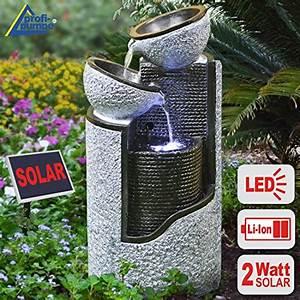brunnen wasserbrunnen granitbrunnen vogelbrunnen With französischer balkon mit solar wasserbrunnen garten