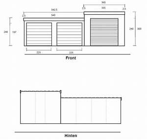 Kosten Einer Doppelgarage : fertiggarage grundriss ~ Michelbontemps.com Haus und Dekorationen