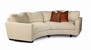 Curved Sectional Sofa Goris Sectional Sofa Upholstered In