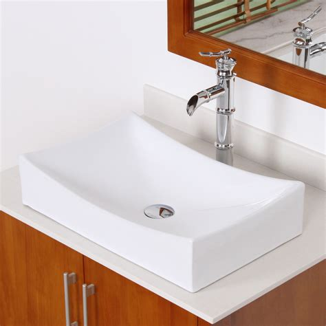 Grade A Ceramic Bathroom Sink With Unique Design 9910