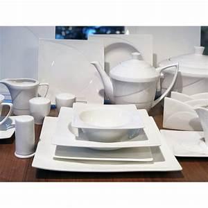 Geschirr Porzellan Weiß : schillerbach tafelservice weiss 12 personen porzellan essservice ges ~ Markanthonyermac.com Haus und Dekorationen