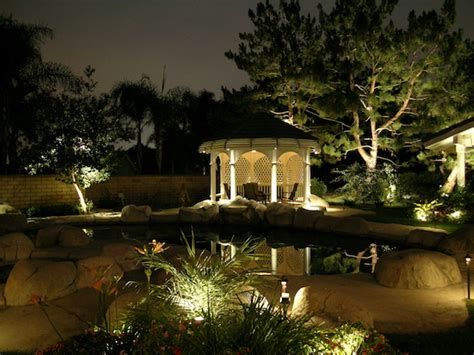 outdoor landscape lighting ideas landscape lighting new jersey yard lighting robert bradley landscaping