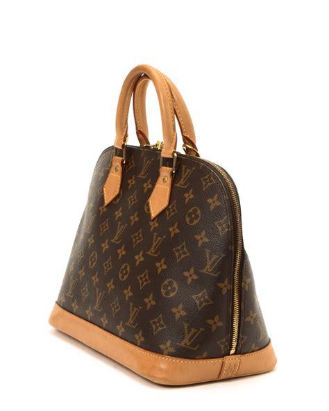 louis vuitton handbag vintage  brown lyst