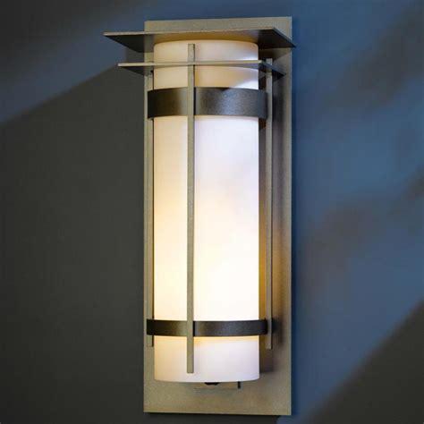 hubbardton forge 305995 banded led exterior wall lighting