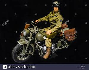 Action Man Moto : g i joe action man doll wears u s 3rd army uniform riding a harley stock photo 105412926 alamy ~ Medecine-chirurgie-esthetiques.com Avis de Voitures