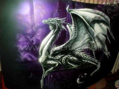 airbrush painting dragon  bonnet step  step youtube