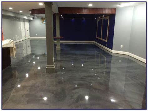Epoxy Basement Floor Paint Colors   Flooring : Home Design