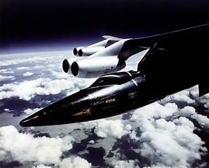 North American X-15 aircraft operated by the USAF and NASA ...