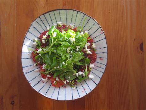 les autres agrumes salade de cresson et oranges