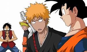 Pin Goku Naruto Luffy Desmotivaciones Ajilbabcom Portal on ...