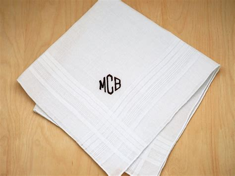 monogram m handkerchiefs initial handkerchief monogrammed m mens monogrammed wedding hankie w 3 initials font d