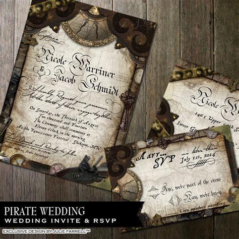 nautical wedding invitation pirate wedding invitation offbeat wedding invitation diy printable