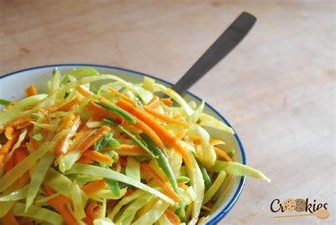 cuisine estivale les achards salade de légumes crus à la réunionnaise