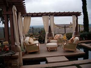 Outdoor, Living, Spaces, As, Terrific, Exterior, Design, For