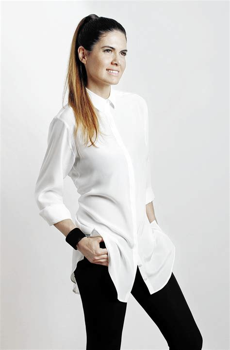fashion designer anne fontaine expands   classic white shirt weekend