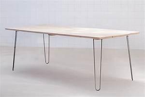 Table Pied Epingle : 17 meilleures id es propos de pied de table metal sur ~ Edinachiropracticcenter.com Idées de Décoration