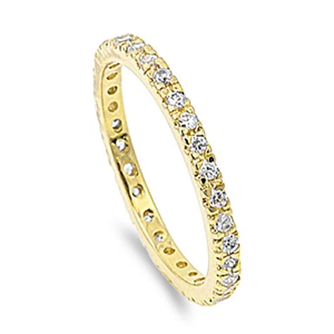 eternity ring new 925 sterling silver wedding engagement
