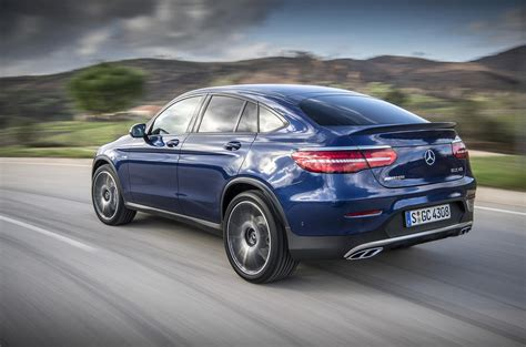 mercedes amg glc  coupe review review autocar