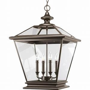 Progress lighting seeded glass collection light antique