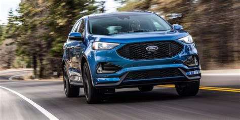 ford edge st revealed update