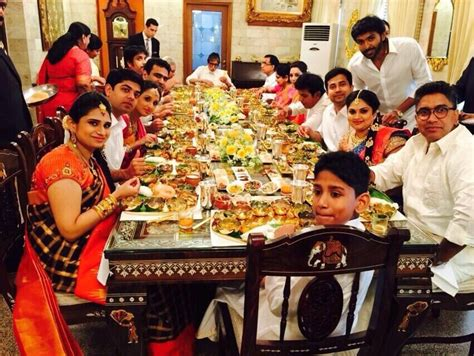 sandisplash indian dining etiquette amitabh bachchan 39 s lunch with kalyanaraman 39 s family in