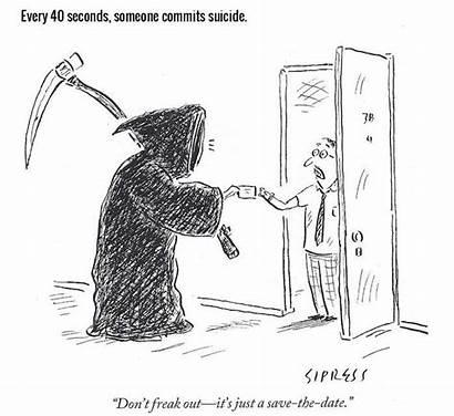 Death Reaper Grim Facts Palliative Care Depressing