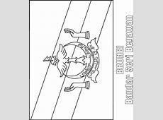 Brunei flag coloring page Download Free Brunei flag