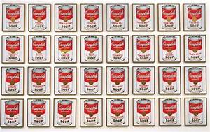"""Andy Warhol: Campbell's Soup Cans and Other Works, 1953 ..."