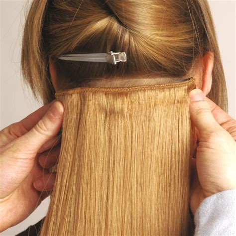 Universal 18in Clip In Human Hair Extensions 105g Salons