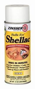 Zinsser 408 Bulls Eye Spray Shellac Clear 12