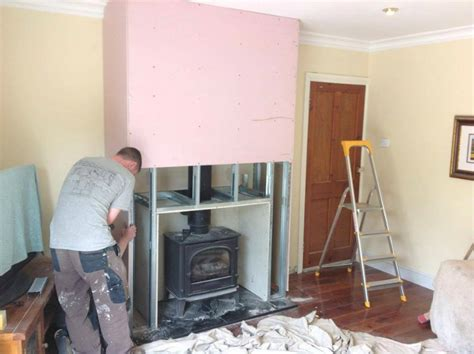 Fitting A Fireplace Insert by Workgallery