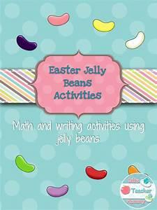 Easter Jelly Bean Math 3rd 4th 5th Grades  Language Arts